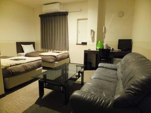 コンビニAyersRockホテル仙台多賀城/客室