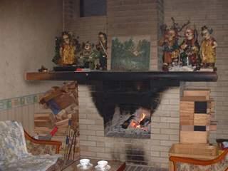 ペンション暖炉/客室
