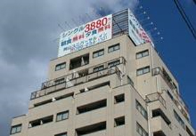 岡山ユニバーサルイン(ユニバーサルホテルチェーン)/外観