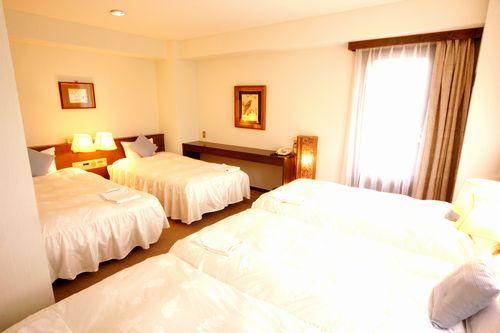 富士五湖リゾート&ビジネス ホテルベル鐘山/客室