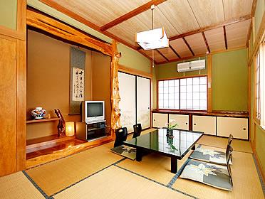 温泉民宿はしば荘/客室