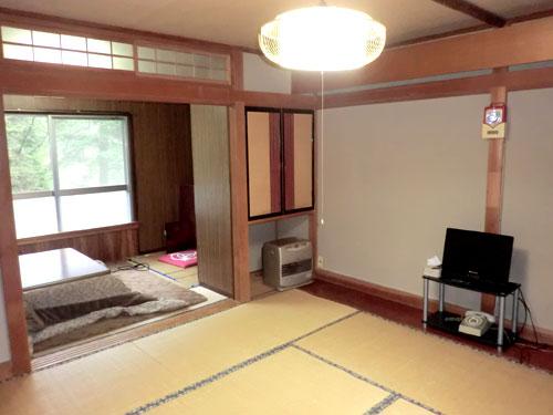 梅ヶ島温泉 静かな山の宿さつき苑/客室