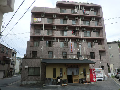 ビジネスホテルみき屋/外観