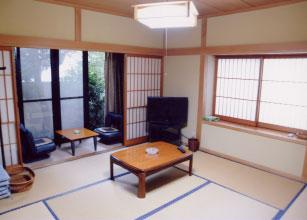 文の家/客室