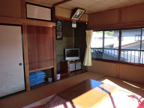 富士五湖精進湖畔 民宿ちどり荘/客室