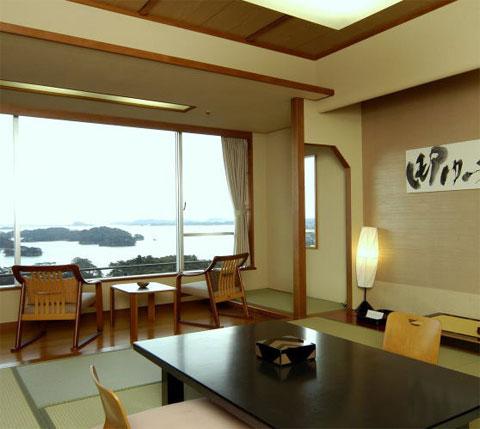 【新幹線付プラン】ホテル松島大観荘(びゅうトラベルサービス提供)/客室