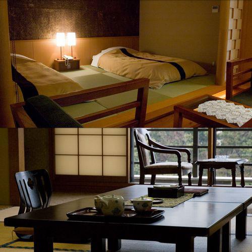【特急列車付プラン】箱根湯本温泉 ホテル南風荘(びゅうトラベルサービス提供)/客室