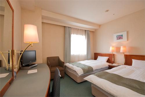 【新幹線付プラン】青森ワシントンホテル(びゅうトラベルサービス提供)/客室