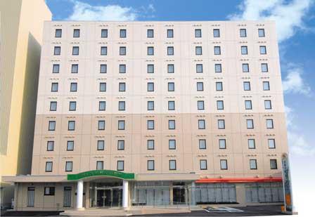 【新幹線付プラン】ホテルユニサイトむつ(びゅうトラベルサービス提供)/外観