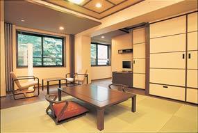 【特急列車付プラン】河口湖温泉 山岸旅館(びゅうトラベルサービス提供)/客室