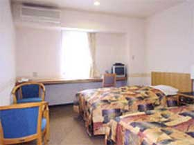 ビジネスホテル フレスコ八雲本館/客室