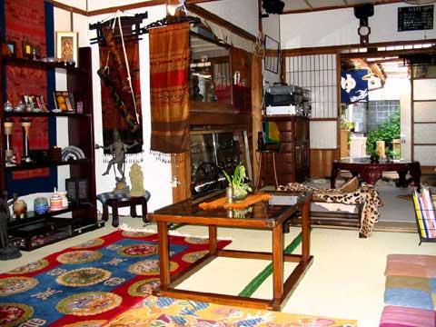 ブッダゲストハウス 口熊野/客室