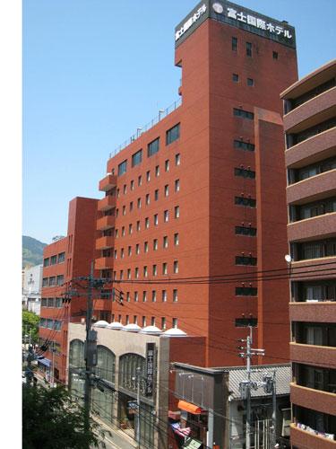 富士国際ホテル/外観
