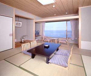 浜辺の温泉宿 かめや/客室