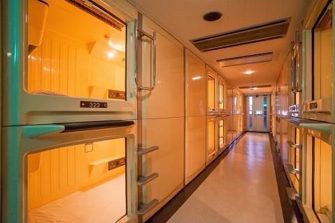 カプセルホテルパレス/客室