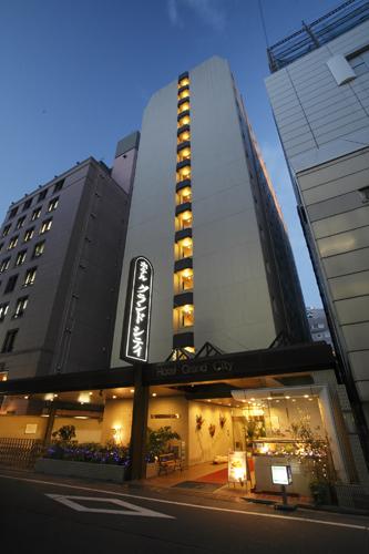 【新幹線付プラン】ホテルグランドシティ(びゅうトラベルサービス提供)/外観