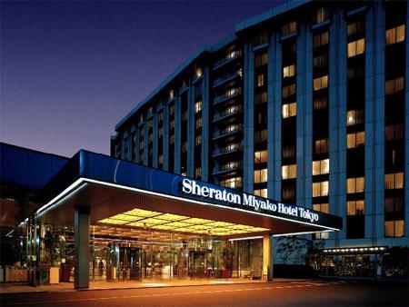 【新幹線付プラン】シェラトン都ホテル東京(びゅうトラベルサービス提供)/外観