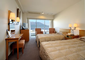 【新幹線付プラン】鹿児島サンロイヤルホテル(JR九州旅行提供)/客室
