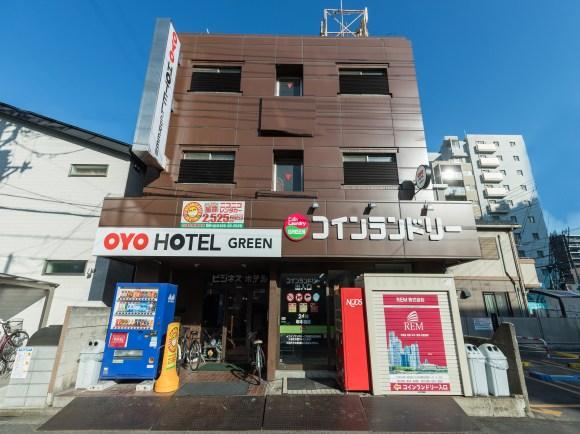ビジネスホテル グリーン/外観