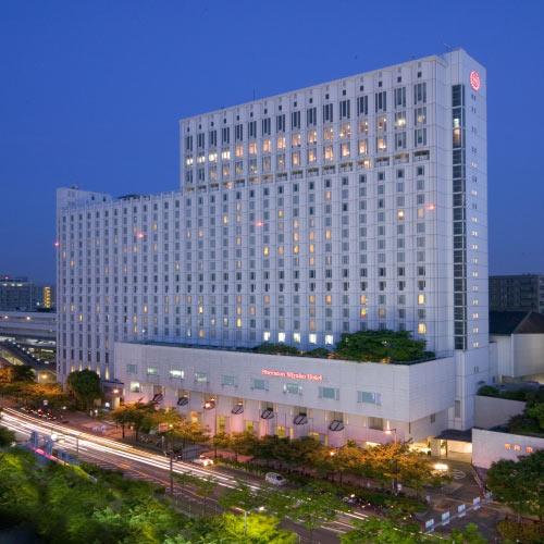 【新幹線付プラン】シェラトン都ホテル大阪(びゅうトラベルサービス提供)/外観