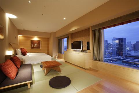 【新幹線付プラン】リーガロイヤルホテル(びゅうトラベルサービス提供)/客室