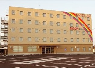 HOTEL AZ 愛媛松山西店/外観