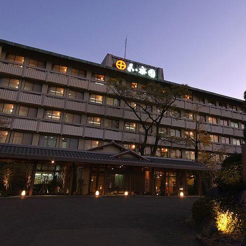 【特急&バス付プラン】嬉野温泉 茶心の宿 和楽園(JR九州旅行提供)/外観