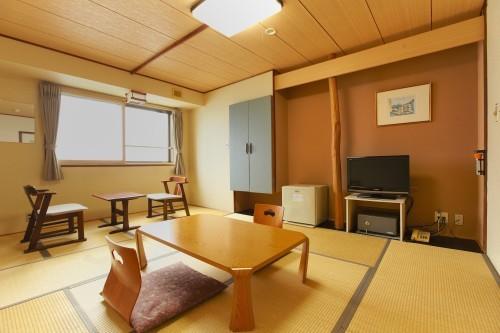 【新幹線付プラン】湯の川温泉 湯の浜ホテル(びゅうトラベルサービス提供)/客室