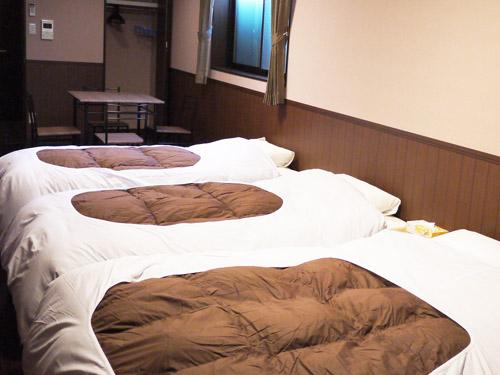 パークサイド梅小路 ゲストハウスイン京都/客室
