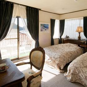 月影の丘ホテル ヴィラ勝山アヴェール/客室
