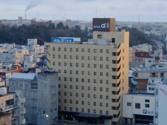 ホテルアルファーワン高岡/外観