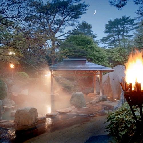 秋保温泉 篝火の湯 緑水亭/客室