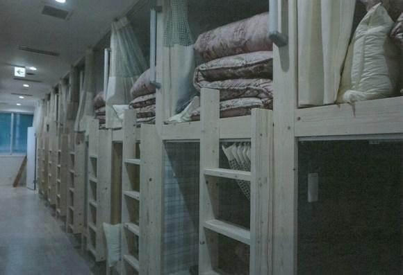ゲストハウスわさび大阪 Bed and Library/客室