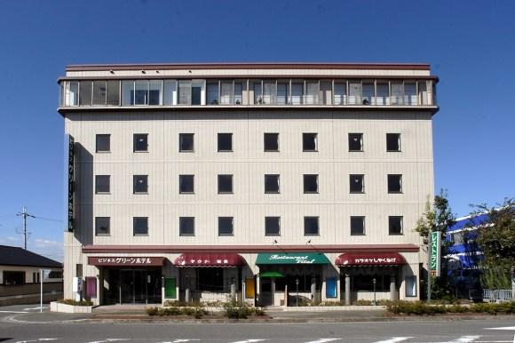 ビジネスグリーンホテル日野/外観