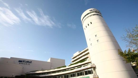 福岡サンパレスホテル&ホール/外観