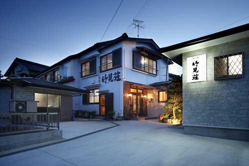 日間賀島 民宿・釣船 竹見荘/外観