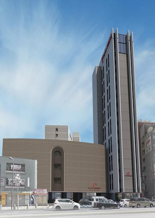 立川グランドホテル/外観