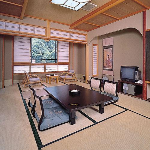 昼神温泉 湯元ホテル 阿智川/客室