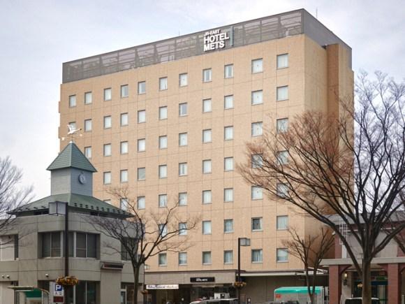ホテルメッツ福島/外観