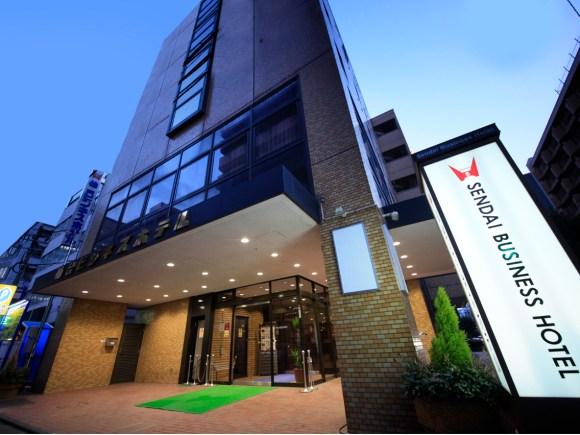 仙台ビジネスホテル/外観