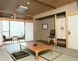 奥尻湯ノ浜温泉 ホテル緑館<奥尻島>/客室