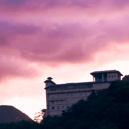 層雲峡 朝陽亭/外観