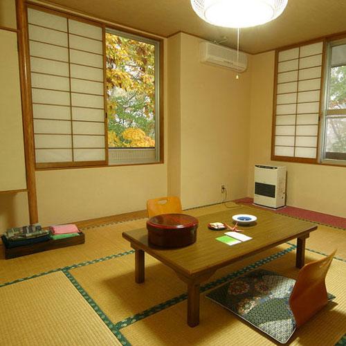 元湯大露天風呂 みやま荘/客室