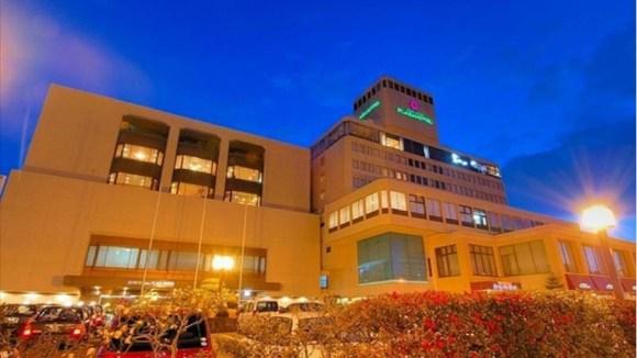 岡山プラザホテル/外観