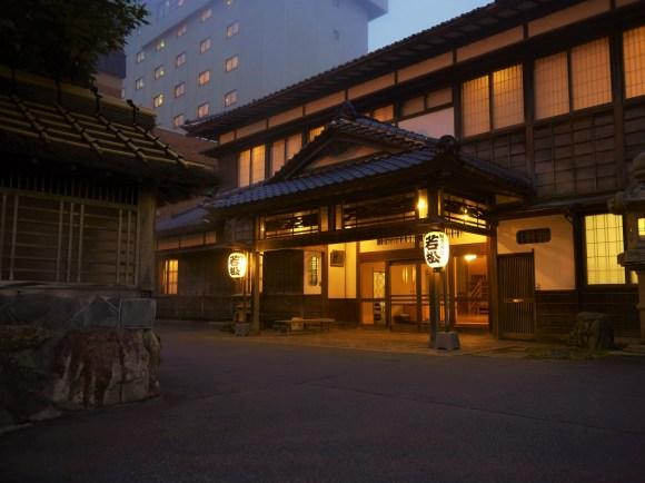 割烹旅館 若松/外観