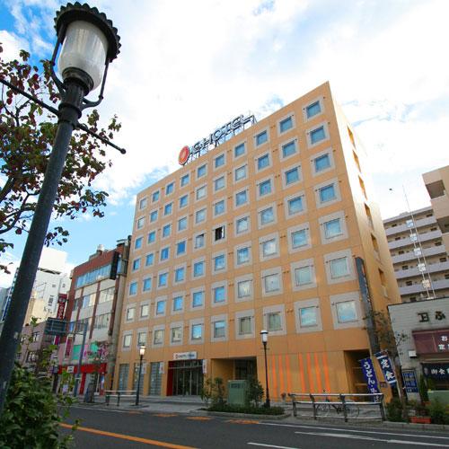 イーホテル小山/外観