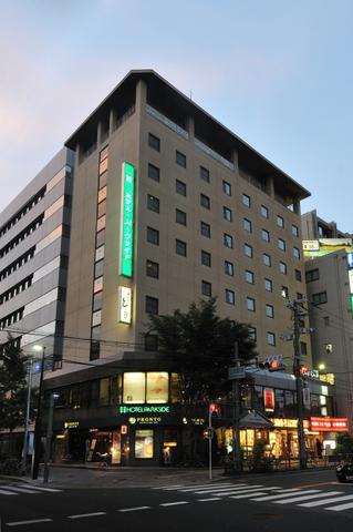 ホテル・パークサイド<大阪府>/外観
