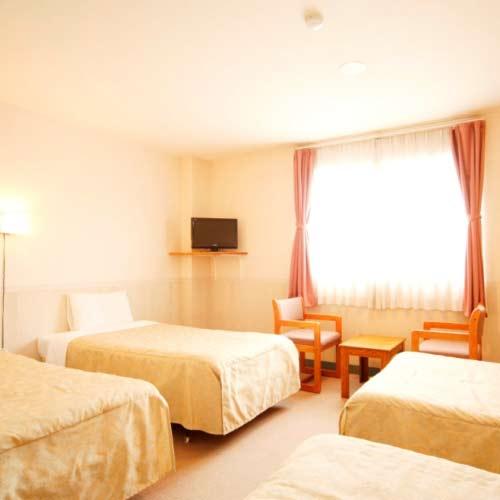 軽井沢ホテルパイプのけむり「北投石の湯」/客室