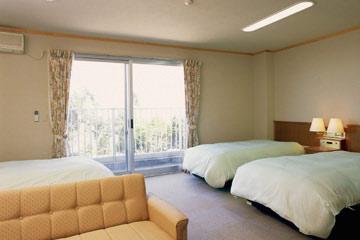 森林公園スイス村 風のがっこう京都/客室