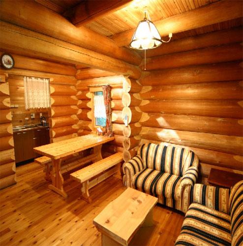 ログコテージ茶臼の森/客室